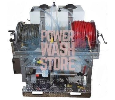 Custom Built Mini Soft Wash Booster Skids Power Wash